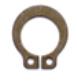 Låsring Huvudcyl. damask  L1987-Upp