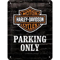 Tin Sign 15*20 cm Harley Parking