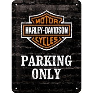 Tin Sign 15*20 cm Harley Parking