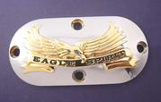 "Insp. Lock B/T 1965-05 ""Eagle Spirit"" Chr/Guld"