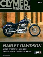 Clymer Repair Manual Sportster 1986-03