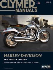 Clymer Repair Manual V-Rod 2002-14