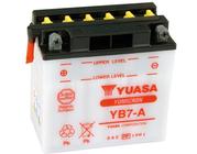 Batteri 12N7-4A 1970-78 FX/XL Kickst.  Ymicron Yb7-A