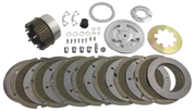 H/duty Kevlar Clutch Pak Kit 1941-E84