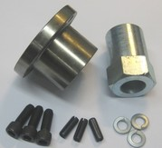 """1-1/4"""" Front Pulley Offset Insert W/Nut Bdl"""