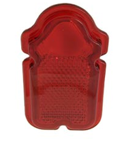 Rött Glas Tombstone, Av Plast