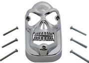 Skull Tombstone Taillight Lens Grill 47-54
