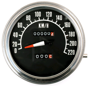 Hastighetsmätare F/B 1:1 Km/T,1972-84