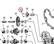 "Nit oljeseparator 45""(2)  1937-45"