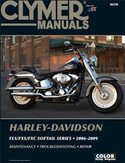 Clymer Repair Manual Fxst 2006-10